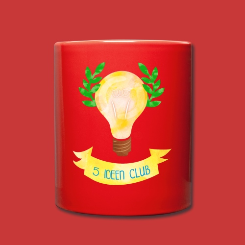 5 IDEEN CLUB Glühbirne 2018 - Tasse einfarbig