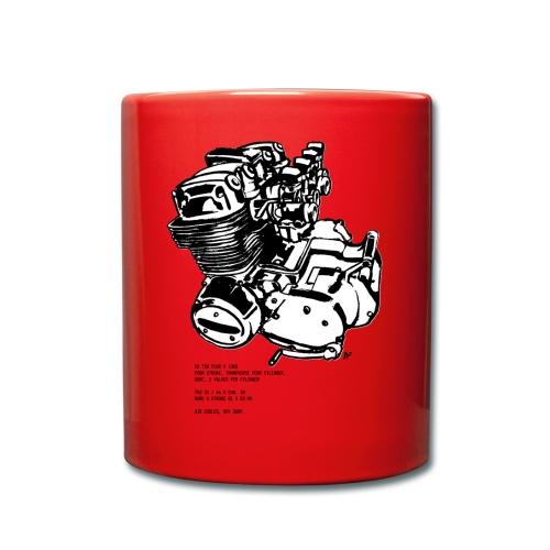 CB 750 Motorrad Motorblock - Tasse einfarbig
