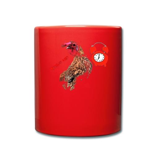 Wake up, the cock crows - Full Colour Mug