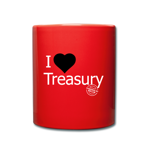 I LOVE TREASURY - Full Colour Mug