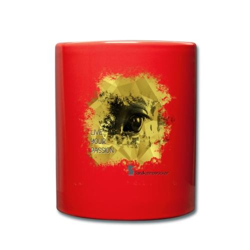 Live your Passion Sandkastenrocker - Tasse einfarbig