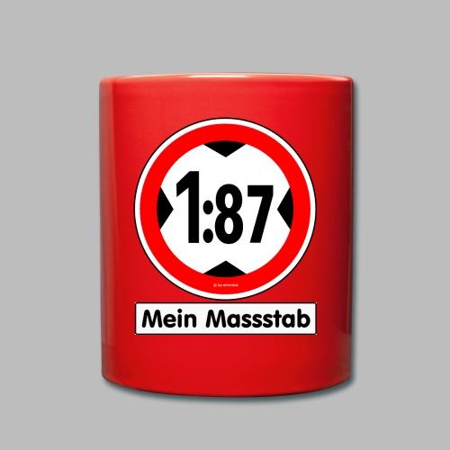 1:87 Mein Massstab - Tasse einfarbig