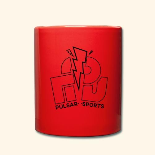 Lightning Striking through Team-Pulsar logo - Full Colour Mug