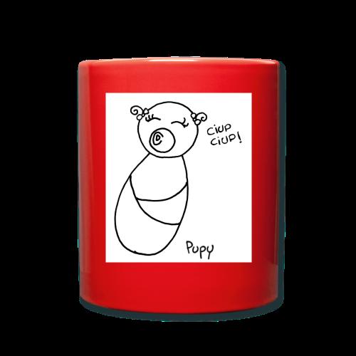 Pupy: ciup ciup! - girl - Tazza monocolore