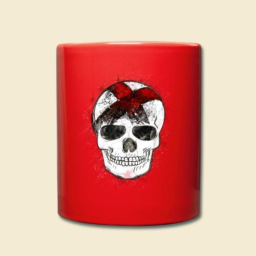 Radball | CycleBall Skull - Tasse einfarbig