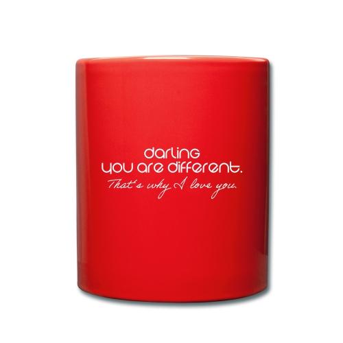 Romantisch - Tasse einfarbig