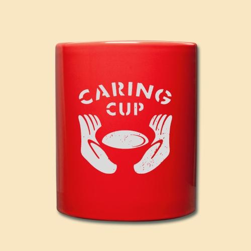 Caring Cup hellgrau - Tasse einfarbig