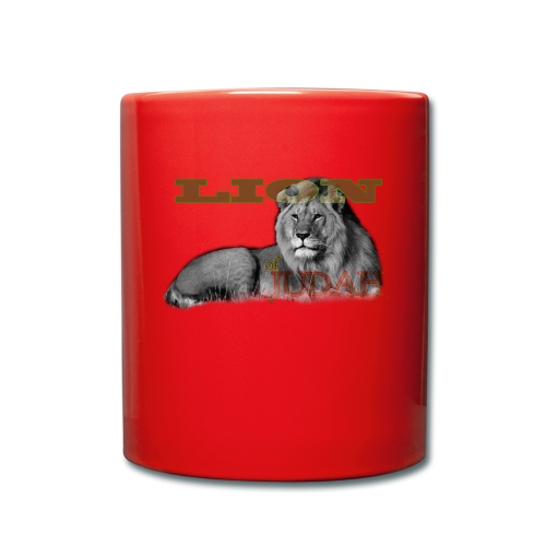Lrg Judah Tribal Gears - Full Colour Mug