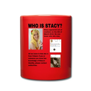 WHO IS STACY? - Full Colour Mug