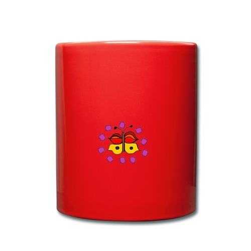 Butterfly colorful - Full Colour Mug