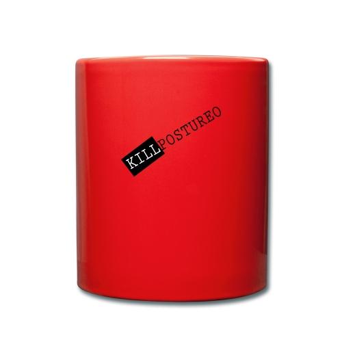 KILLPOSTUREO - Taza de un color