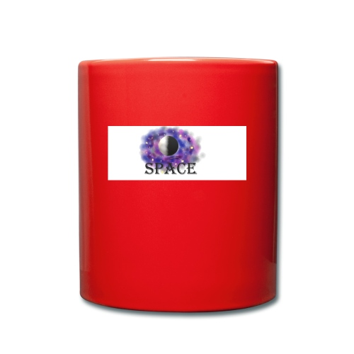 Space paint - Tasse einfarbig