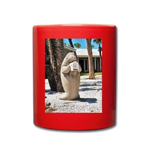 Manatee als Briefkasten - Tasse einfarbig