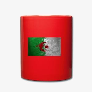 Drapeau Algérienne - Tasse en couleur