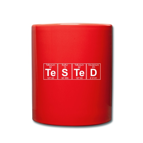 Te-S-Te-D (tested) (small) - Full Colour Mug