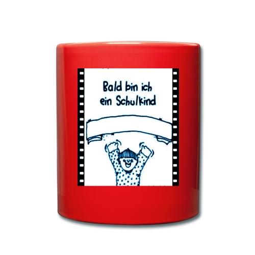 Schulanfang - Tasse einfarbig