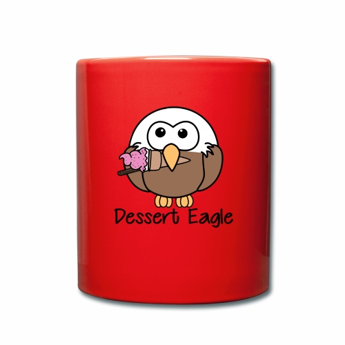 Dessert Eagle - Full Colour Mug