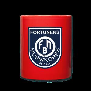 Fortunen logo - Ensfarget kopp