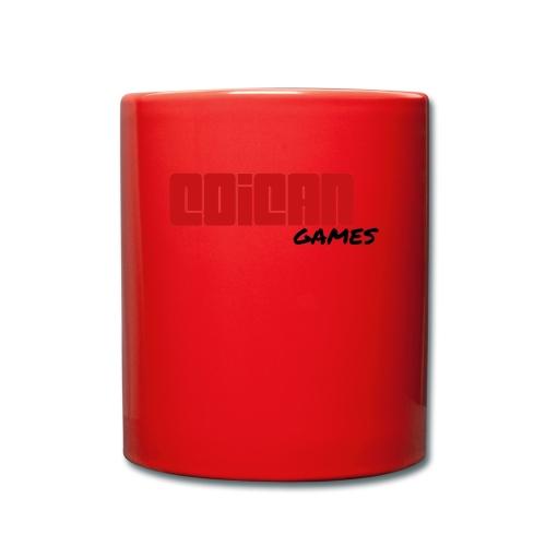 Coican Games - Logo Completo - Taza de un color
