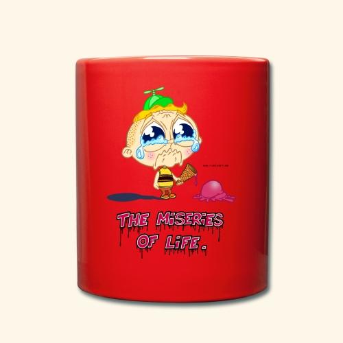 The Miseries of Life Eiscreme Eis Kind - Tasse einfarbig