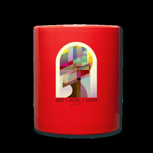 Farbenlehre - Tasse einfarbig