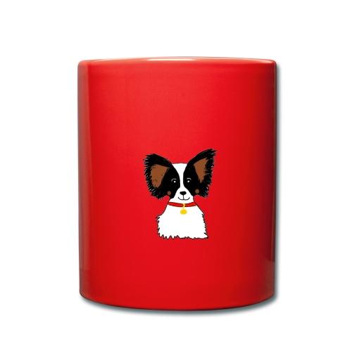 Papillon dog - Full Colour Mug
