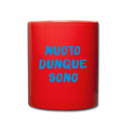 NUOTO DUNQUE SONO - Tazza monocolore