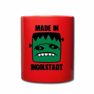 Fonster made in Ingolstadt - Tasse einfarbig