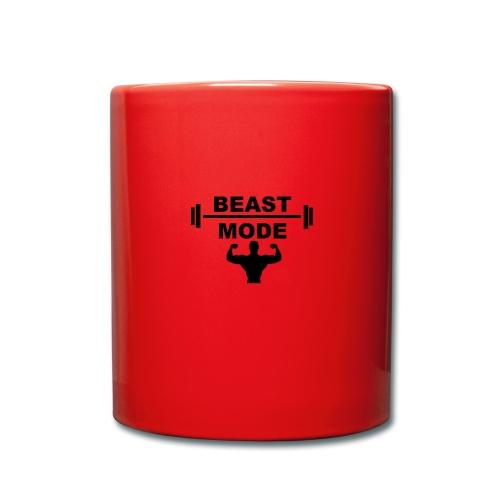 beast mode - Enfärgad mugg