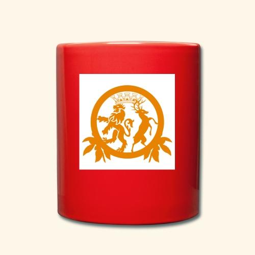 Logo weiß - Tasse einfarbig