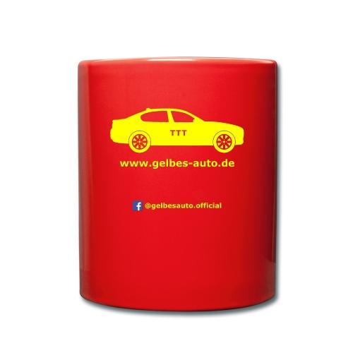 Logo - weißer Hintergrund - Tasse einfarbig