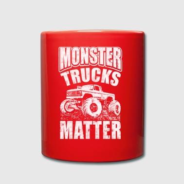 Monster Trucks Matter - Tasse en couleur