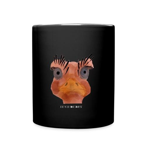 Srauss, again Monday, English writing - Full Colour Mug