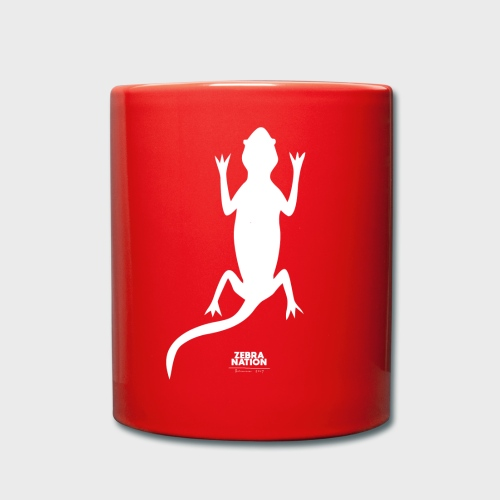 Zebra Nation white Lizard 2019 Collection - Full Colour Mug