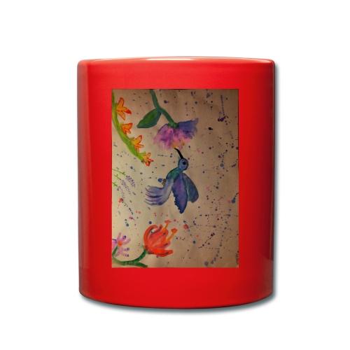 Kolibrie & bloemen - Mok uni