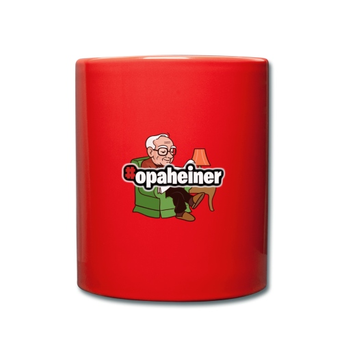 Opa Heiner - Tasse einfarbig