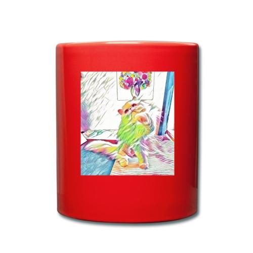 Artzy Helge - Ensfarvet krus