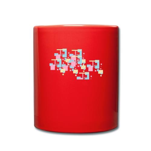 Farbexplosion - Tasse einfarbig