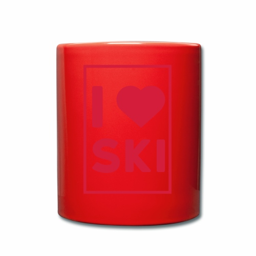 I love ski - Mug uni
