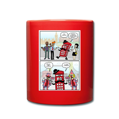 Londi London (Design No 2) - Full Colour Mug