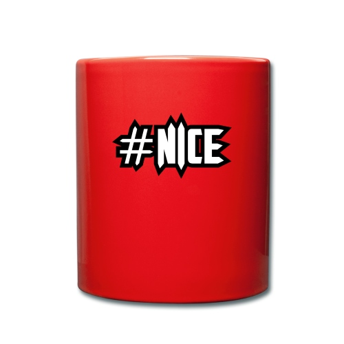 nice - Tasse einfarbig