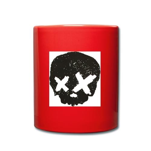 xx totenkopf - Tasse einfarbig