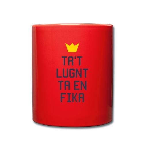Ta't Lugnt Ta En Fika - Full Colour Mug