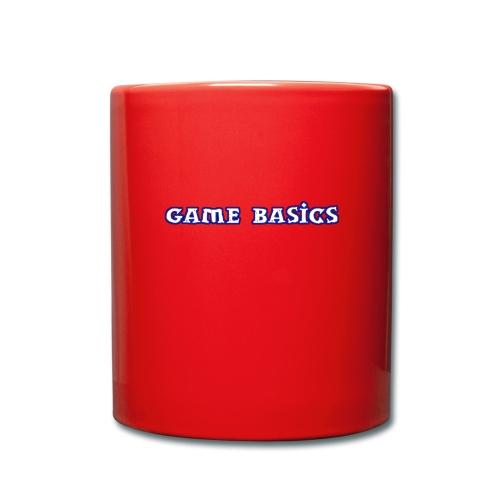 Game Basics Design - Tasse einfarbig