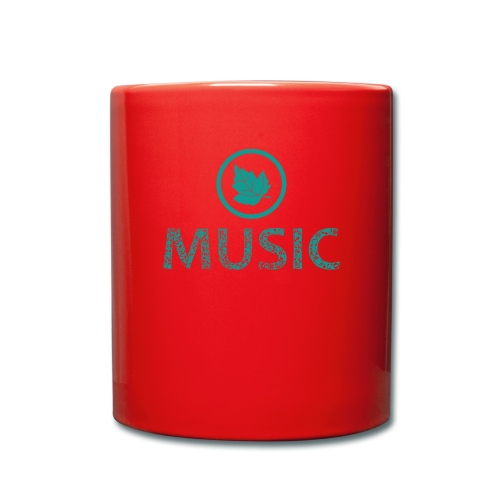 leaf music - Full Colour Mug