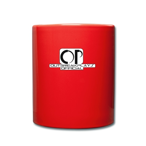outbreakplays official OP logo - Full Colour Mug