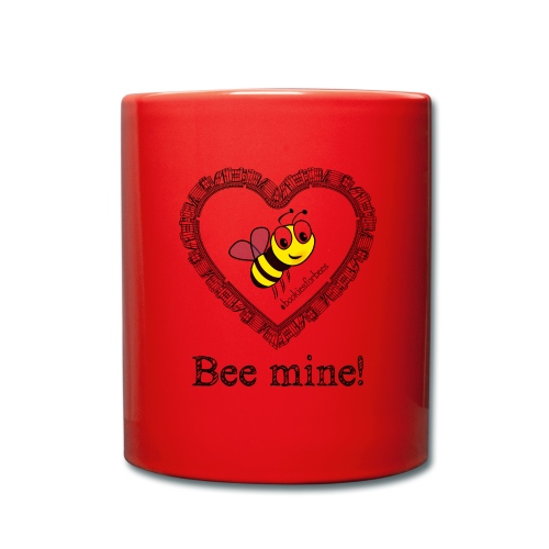 Bees3-1 save the bees   bee mine! - Full Colour Mug