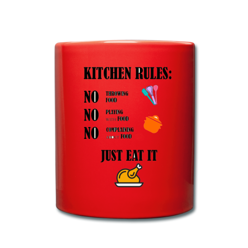 Kitchen Rules - Tasse einfarbig