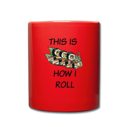 Sushi Roll - Full Colour Mug