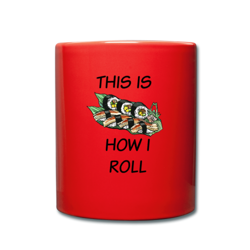 Sushi Roll - Full Colour Mug